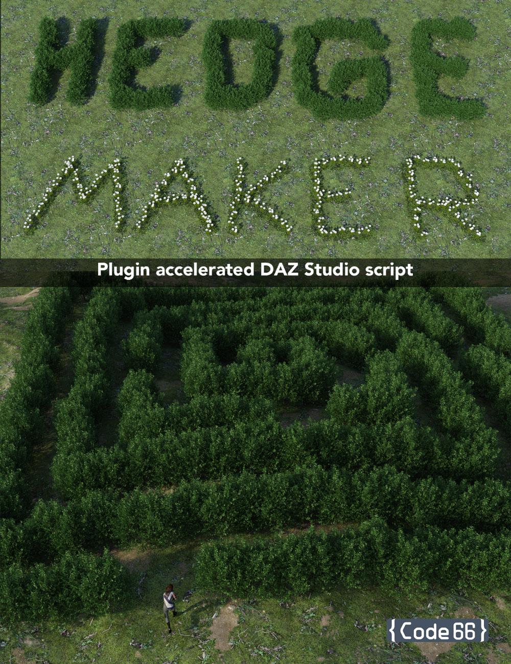 HedgeMaker by: Code 66, 3D Models by Daz 3D