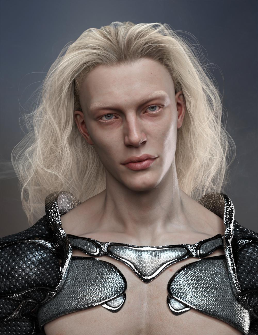 dForce Beachcomber Hair for Genesis 8 and Genesis 8.1 by: RedzStudio, 3D Models by Daz 3D
