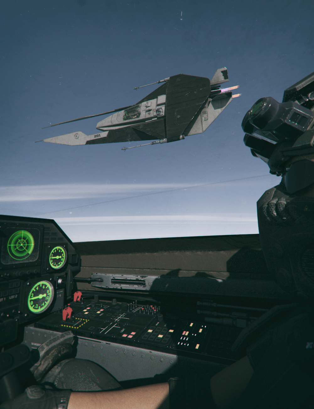 Starship R03 by: Mely3D, 3D Models by Daz 3D