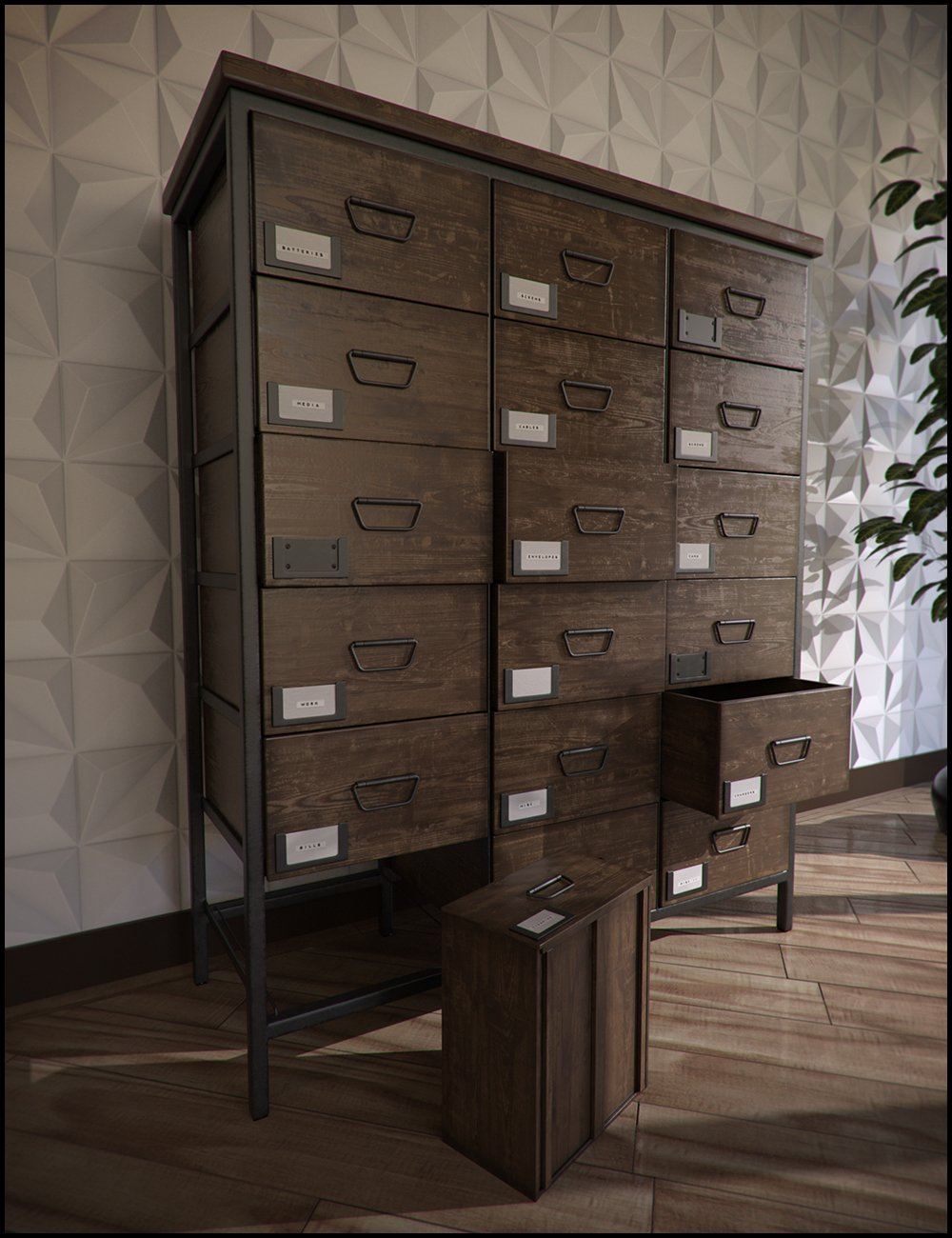 FURNITURE COLLECTION: APOTHECARY DRAWERS