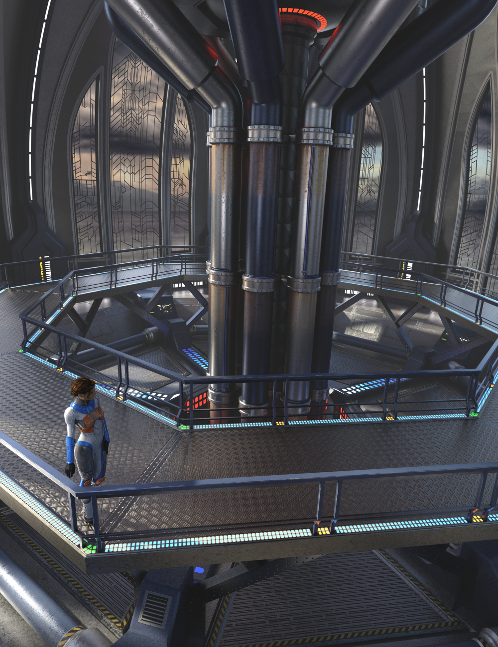 Cyber Nova by: Merlin Studios, 3D Models by Daz 3D