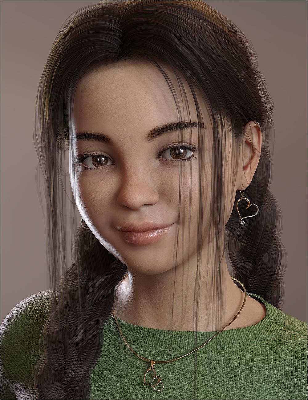 Chrystal Ann for Genesis 8 and Genesis 8.1 Female by: OziChickhotlilme74, 3D Models by Daz 3D