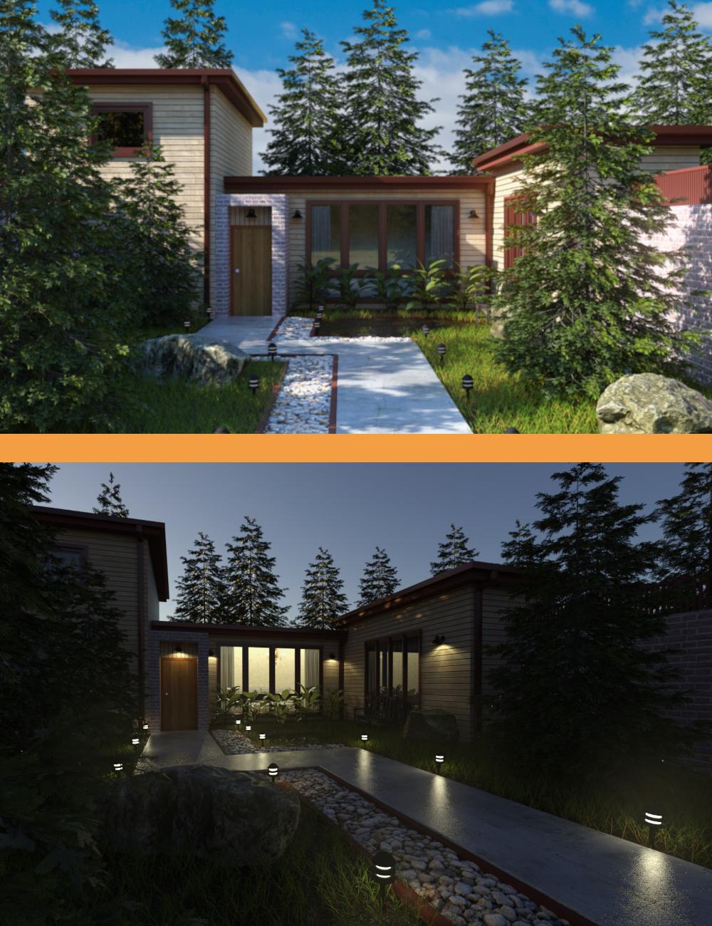 Sunrise Hangout by: Illumination, 3D Models by Daz 3D