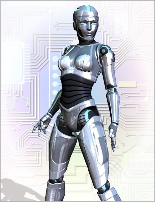 Bot Armor by: Parris, 3D Models by Daz 3D