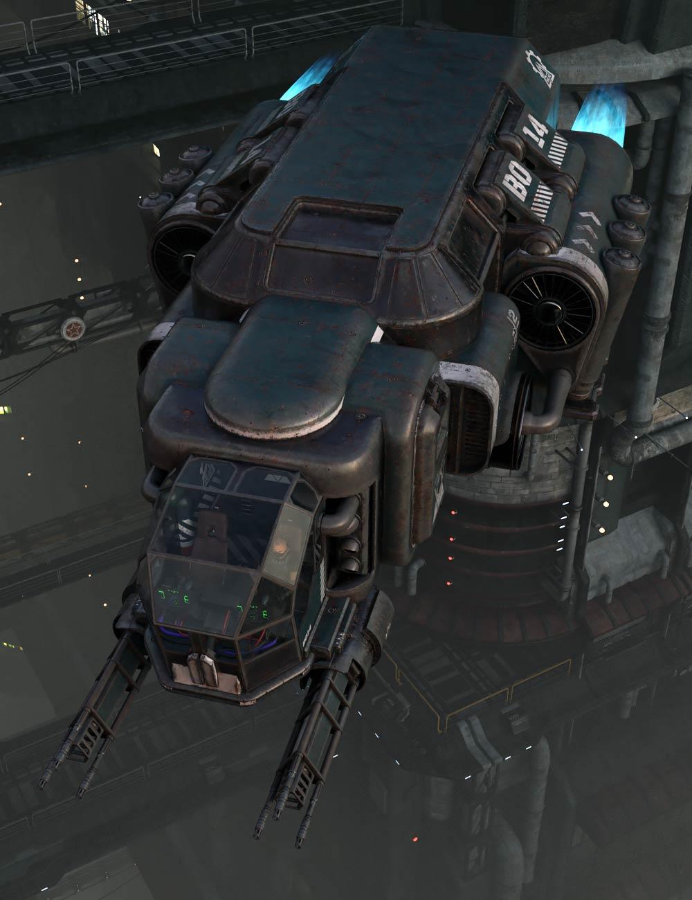 Space Jumper Companion by: ile-avalon, 3D Models by Daz 3D