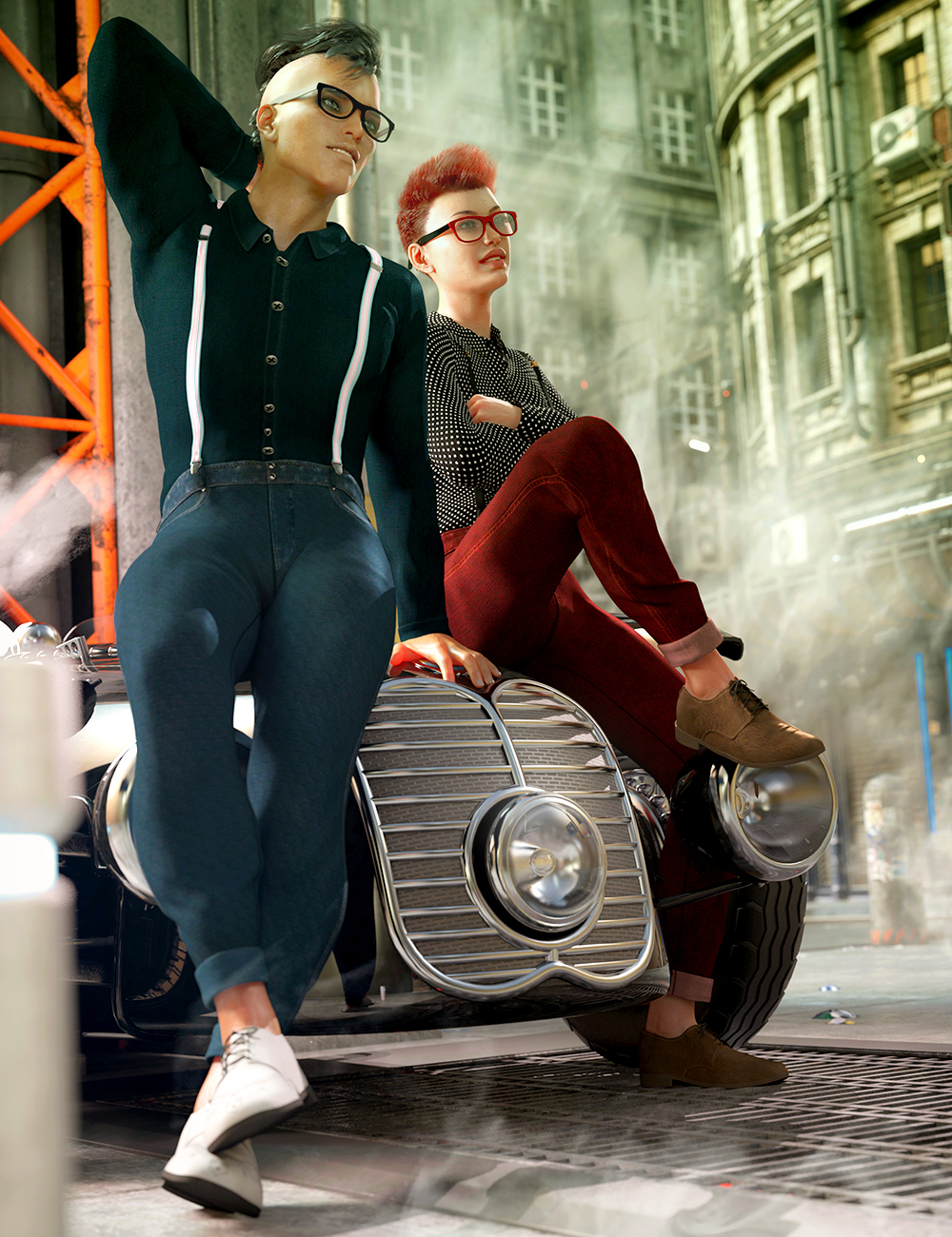 dForce Style Goals Outfit Textures by: Arien, 3D Models by Daz 3D