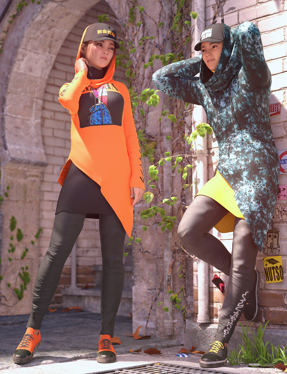 dForce Rebirth Outfit Textures by: Moonscape GraphicsSade, 3D Models by Daz 3D