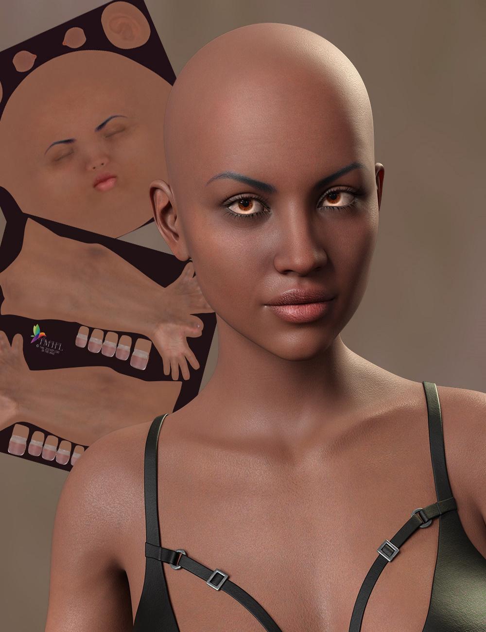 TMHL Dark Skin Merchant Resource for Genesis 8.1 Female by: TwiztedMetal, 3D Models by Daz 3D