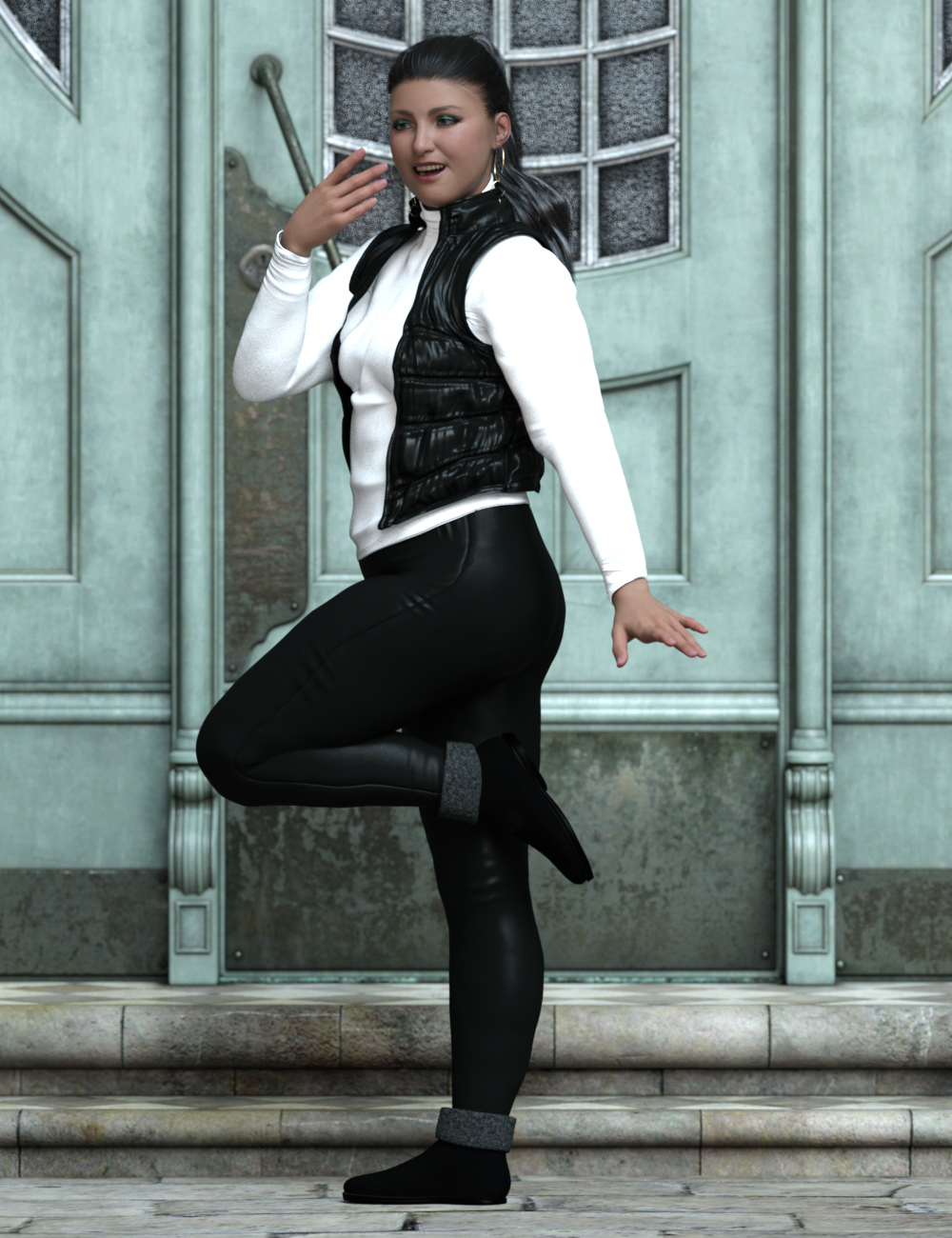 Brooke and Beautiful Poses for Brooke 8.1 by: Ensary, 3D Models by Daz 3D