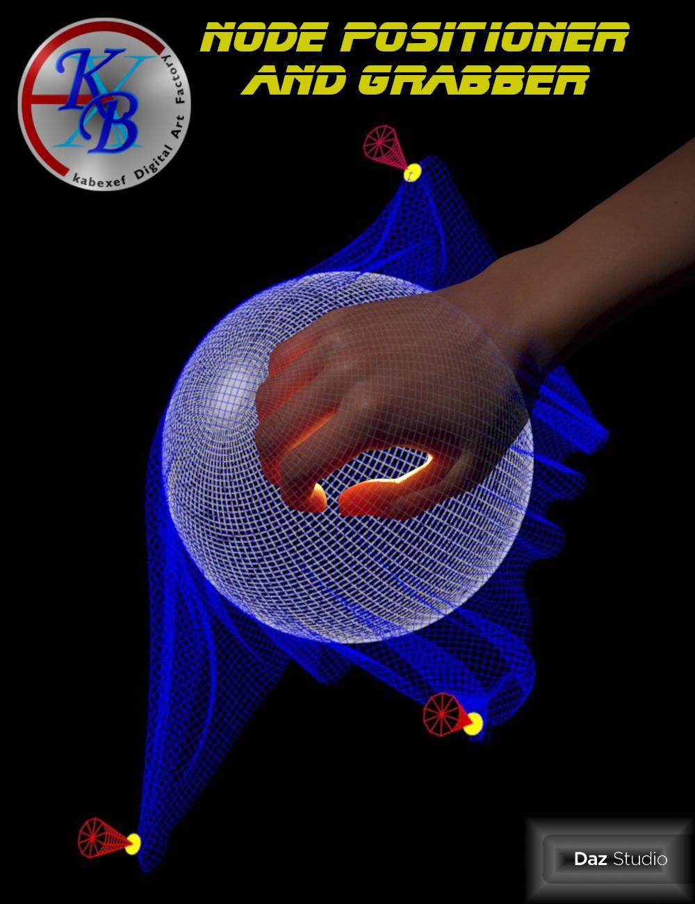 Node Positioner and Grabber by: Kabexef, 3D Models by Daz 3D