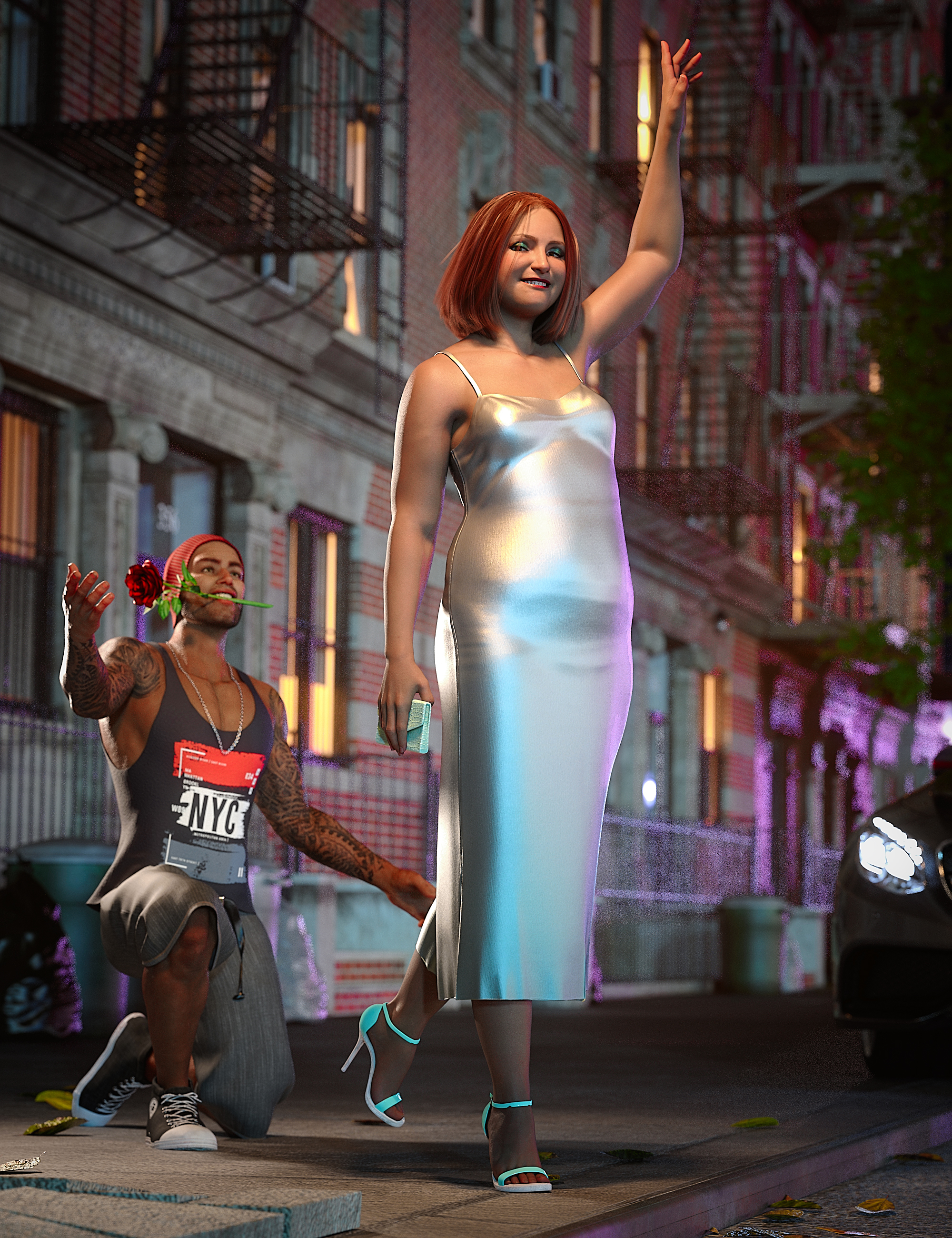 Brooke 8.1 Manhattan Style Bundle by: , 3D Models by Daz 3D