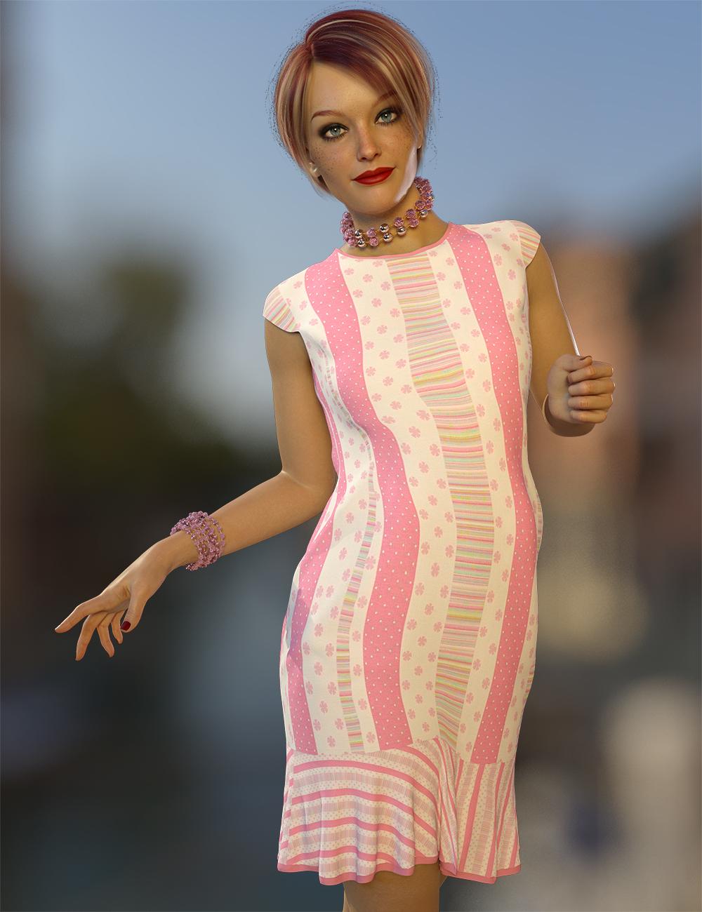 dForce Amelia Outfit Texture Expansion by: Nelmi, 3D Models by Daz 3D