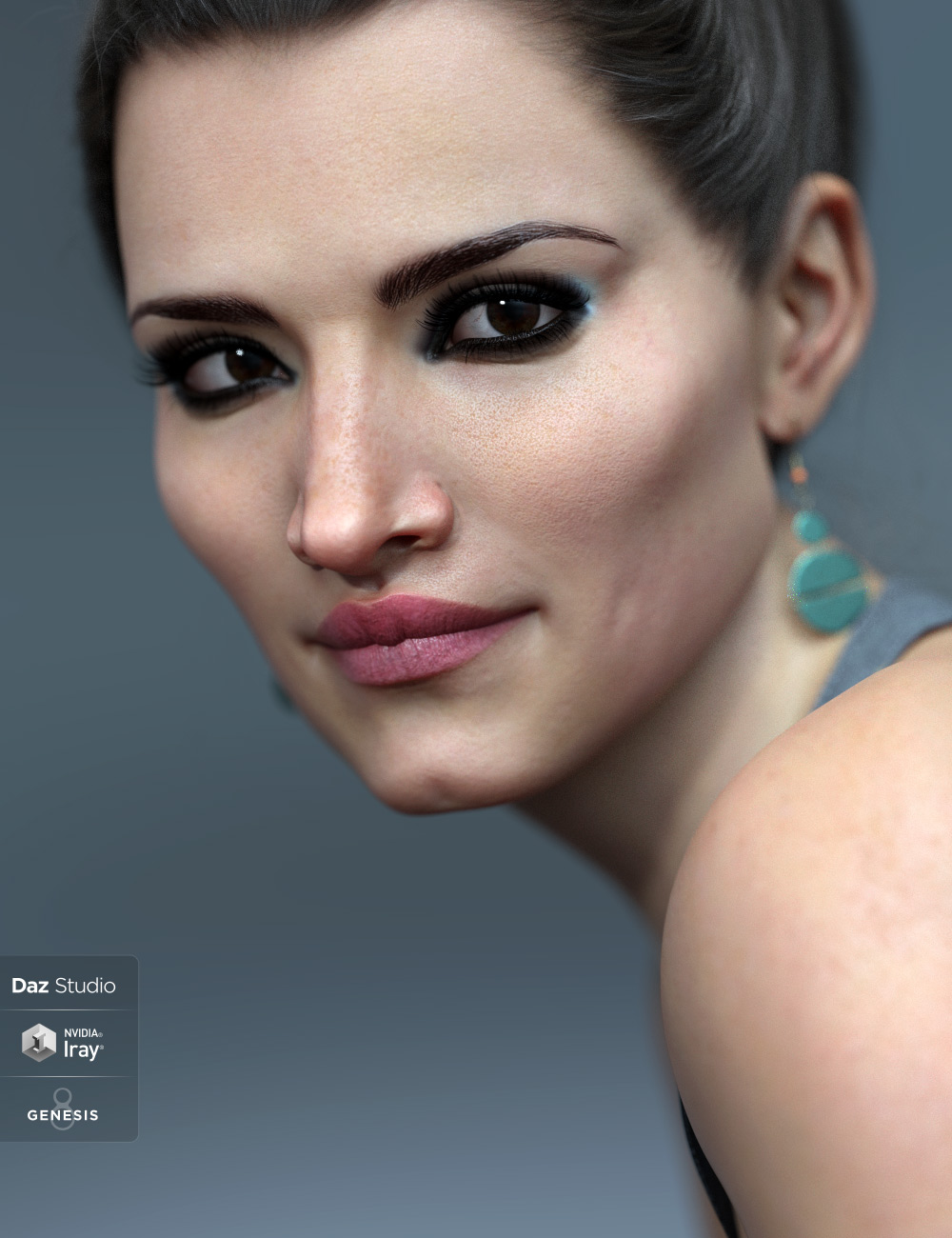 Taniah HD for Genesis 8 and 8.1 Females by: Eichhorn Art, 3D Models by Daz 3D