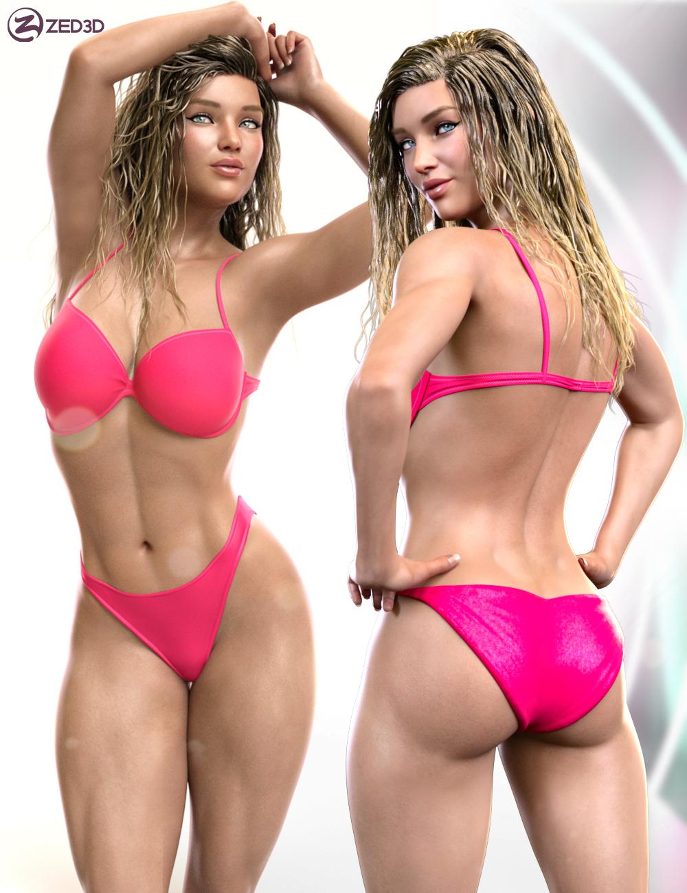 Z Beautifully Strong Shape and Pose Mega Set by: Zeddicuss, 3D Models by Daz 3D