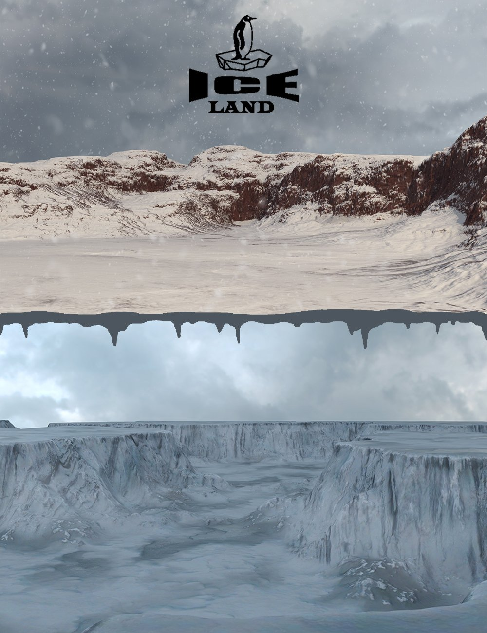 Ice Land by: 3dLab, 3D Models by Daz 3D