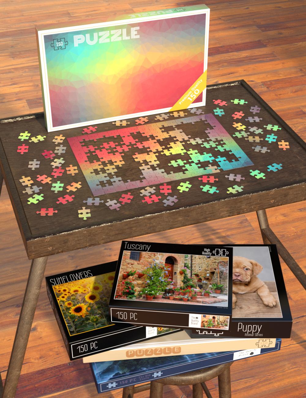 Jigsaw Puzzle by: Sylvan, 3D Models by Daz 3D