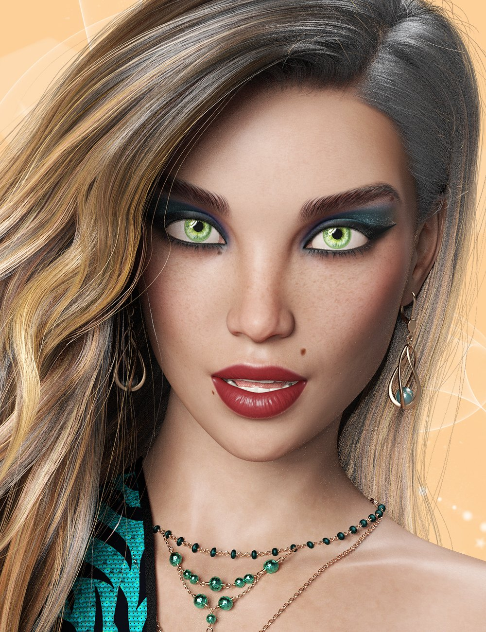 Quinley for Genesis  8.1 Female by: hotlilme74, 3D Models by Daz 3D