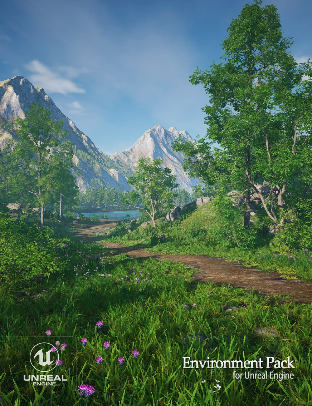 Environment Pack for Unreal Engine by: Andrey Pestryakov, 3D Models by Daz 3D