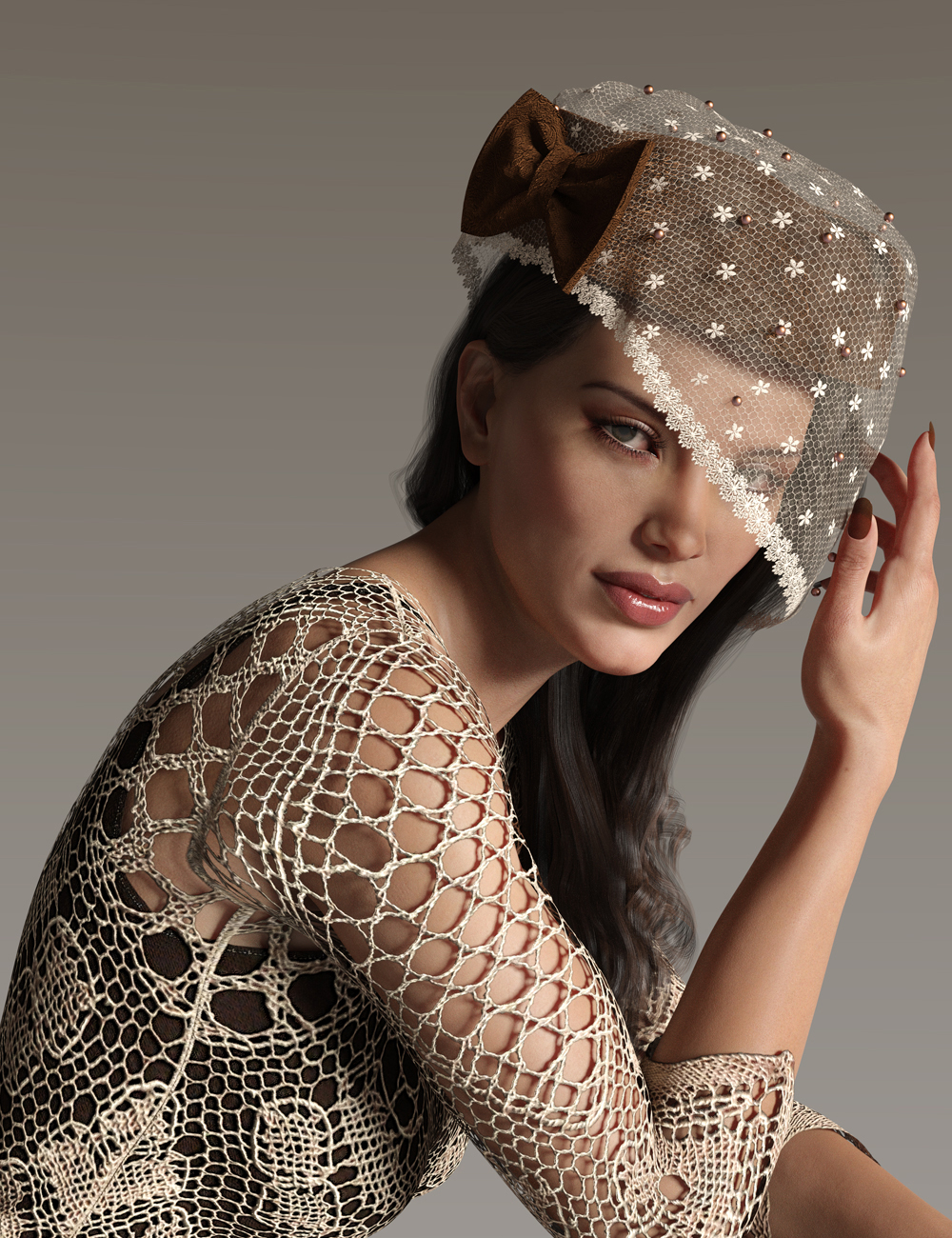 Timeless Treasures Headwear for Genesis 8 Females by: Pixelunashadownet, 3D Models by Daz 3D