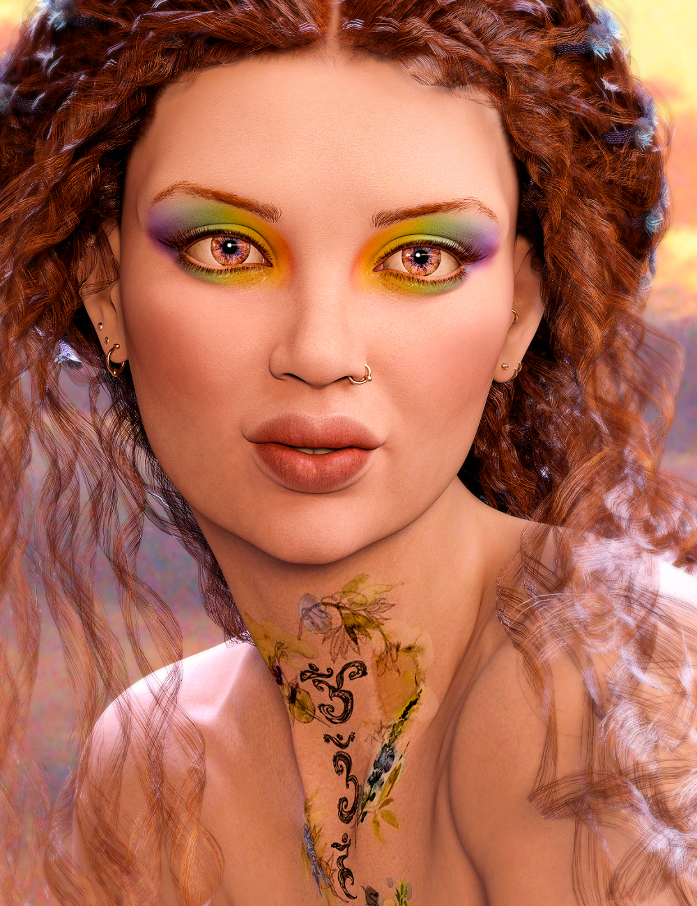 Mireille HD for Genesis 8.1 Female by: Spiritfoxy, 3D Models by Daz 3D