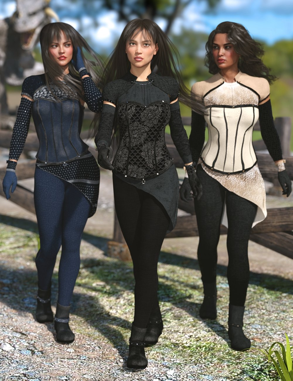 Blackwood Outfit: Taylor Textures by: Lyoness, 3D Models by Daz 3D