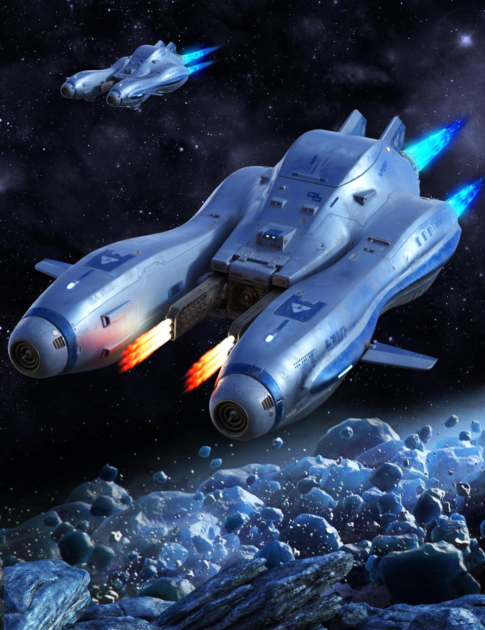 Sci-fi Artifact Jet by: petipet, 3D Models by Daz 3D