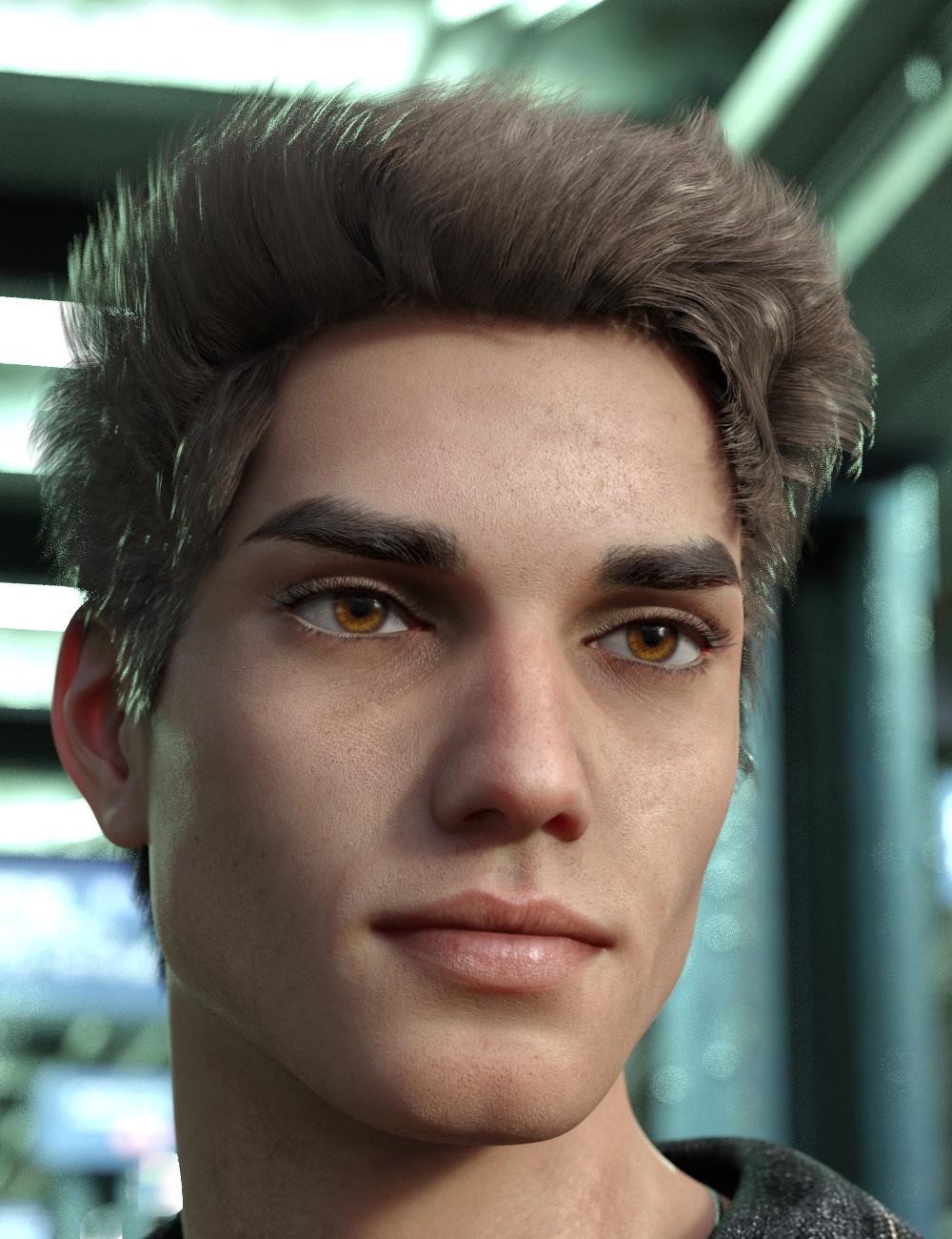 Lukas for Genesis 8.1 Male by: Vyusur, 3D Models by Daz 3D