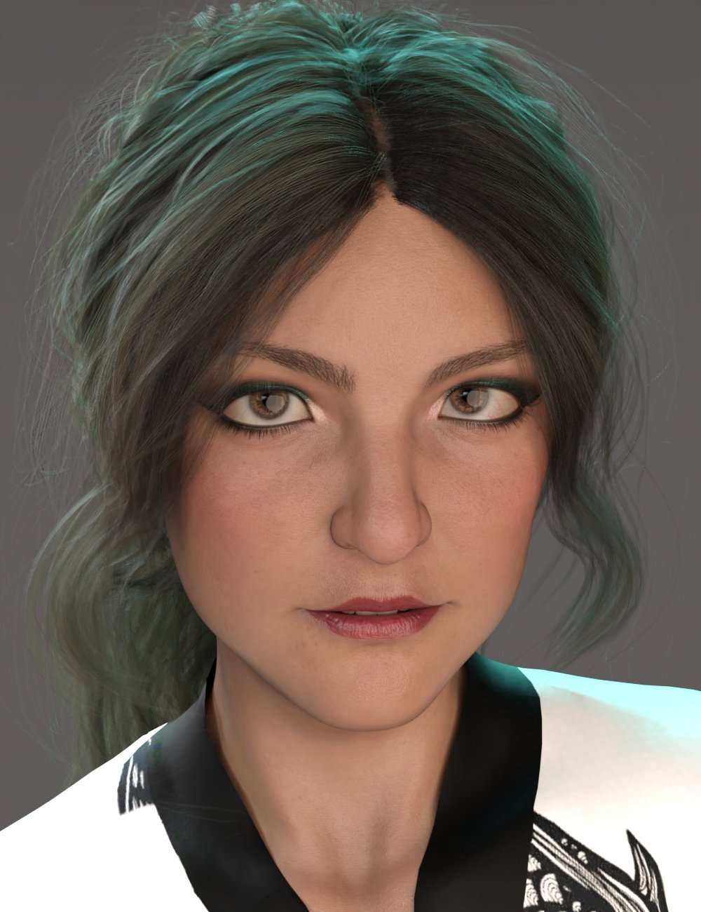 Alternative Shapes for Brooke 8.1 by: AliveSheCried, 3D Models by Daz 3D