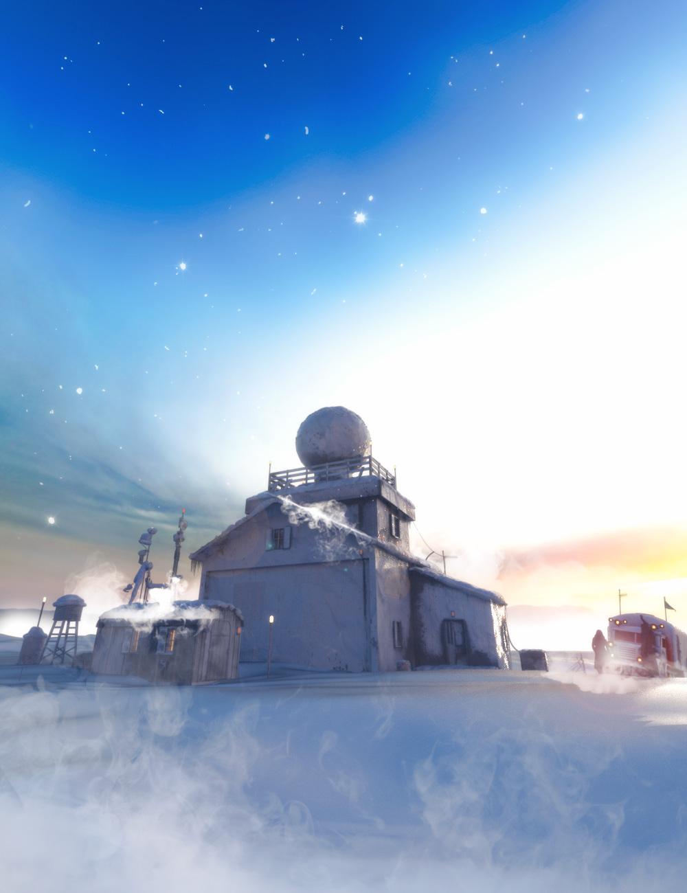 Pole Station by: Ansiko, 3D Models by Daz 3D