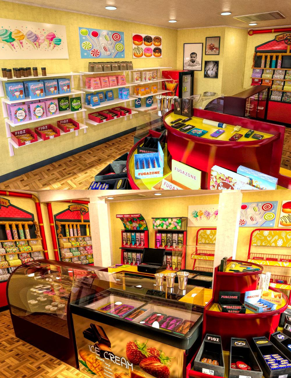 FG Candy Store by: Fugazi1968PAN StudiosIronman, 3D Models by Daz 3D