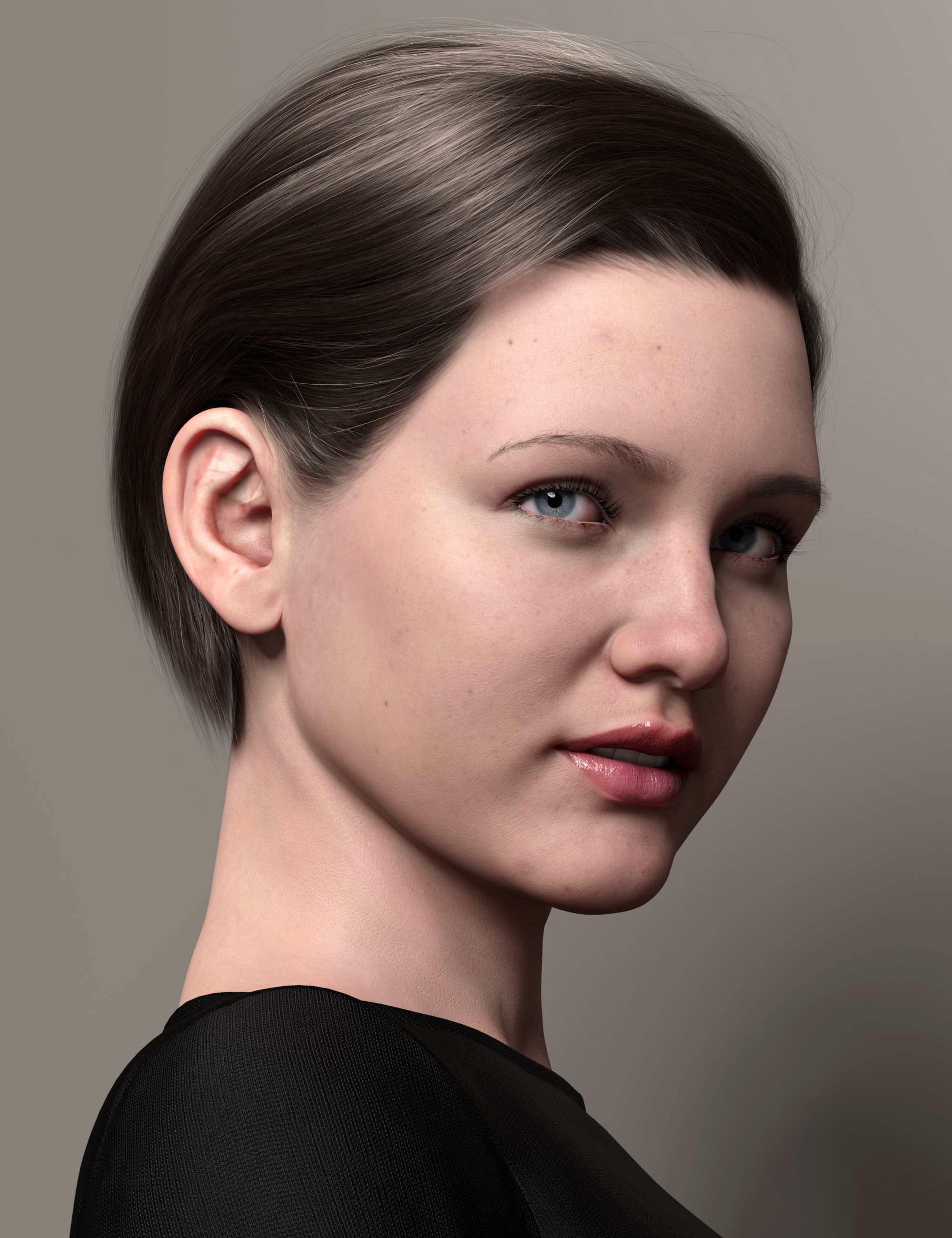 2021-10 Hair for Genesis 8 and 8.1 by: outoftouch, 3D Models by Daz 3D