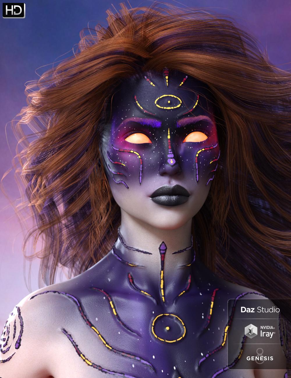 Nebulosa HD for Genesis 8 Female by: Belladona, 3D Models by Daz 3D