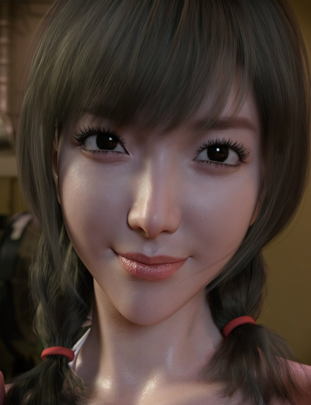 Seo Hyun Character with Hair for Genesis 8 and 8.1 Female by: GoannaSprite, 3D Models by Daz 3D