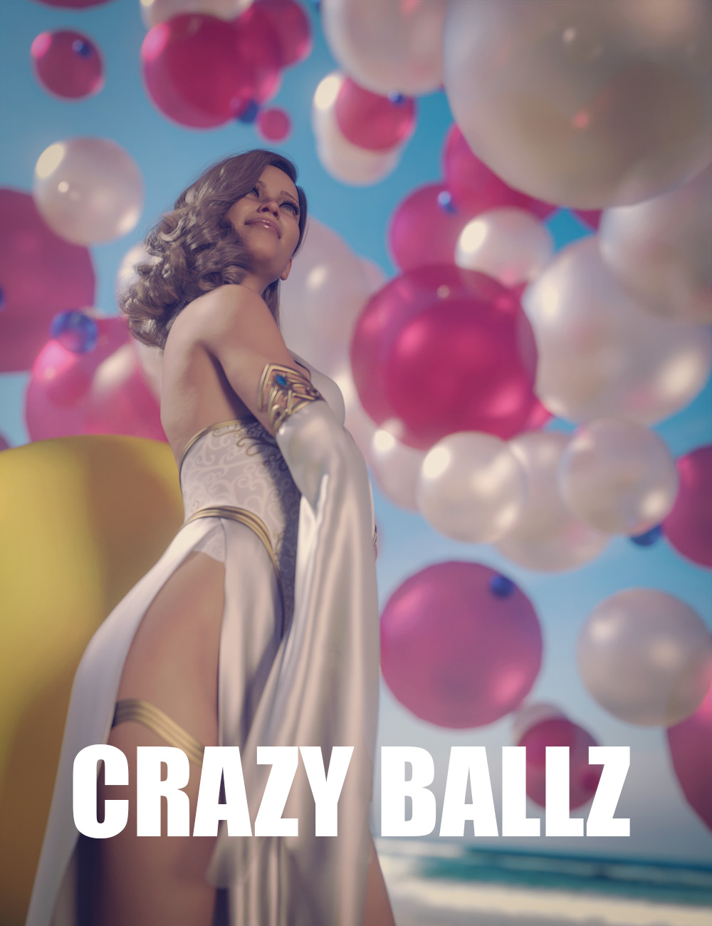 Crazy Ballz by: Dreamlight, 3D Models by Daz 3D