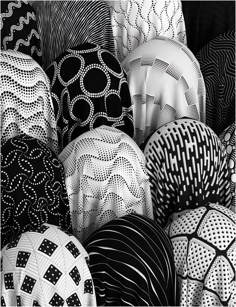 Monochrome Iray Shaders 01 - Merchant Resource by: OziChickhotlilme74, 3D Models by Daz 3D