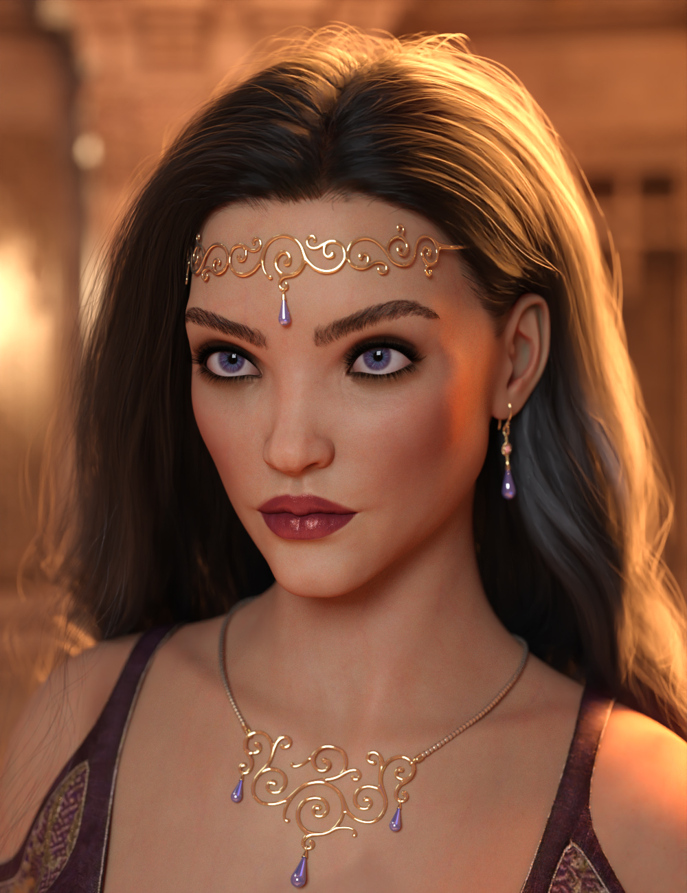 Canilyra HD For Genesis 8.1 Female by: Vex, 3D Models by Daz 3D