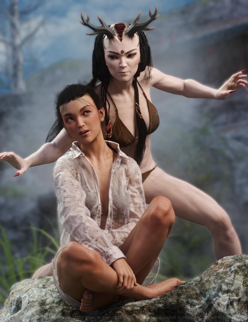 Shika for Genesis 8.1 Female by: RawArt, 3D Models by Daz 3D