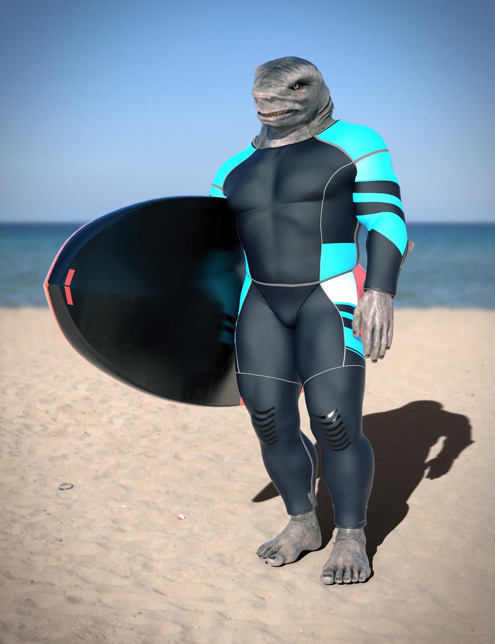 Bodysuit for Jawz by: RedCrow3DArtOdyssey, 3D Models by Daz 3D