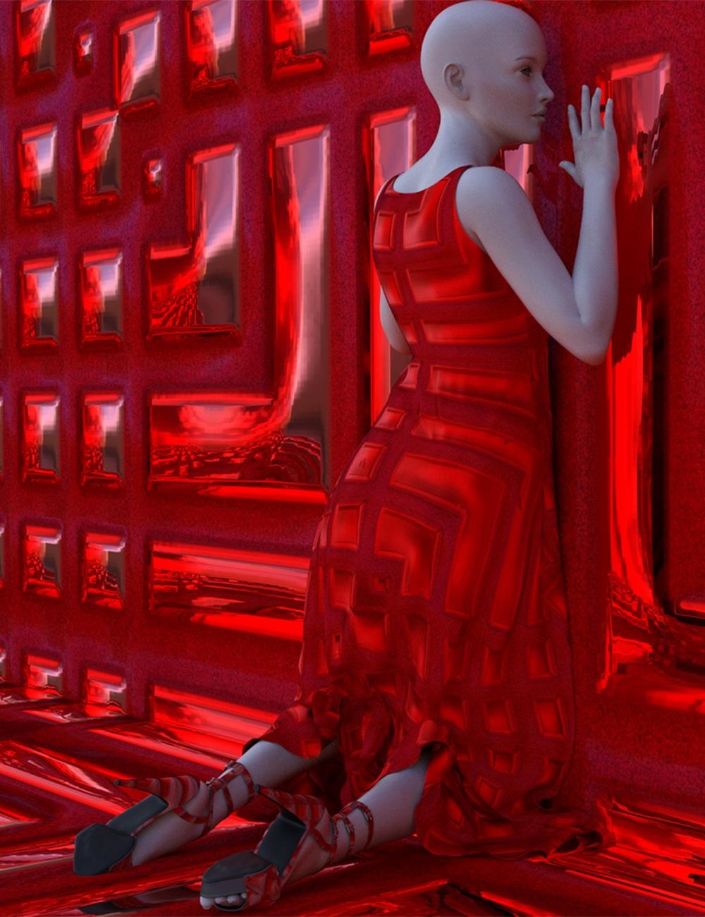 Japanese Kirikane Iray Shaders by: A_Waka, 3D Models by Daz 3D
