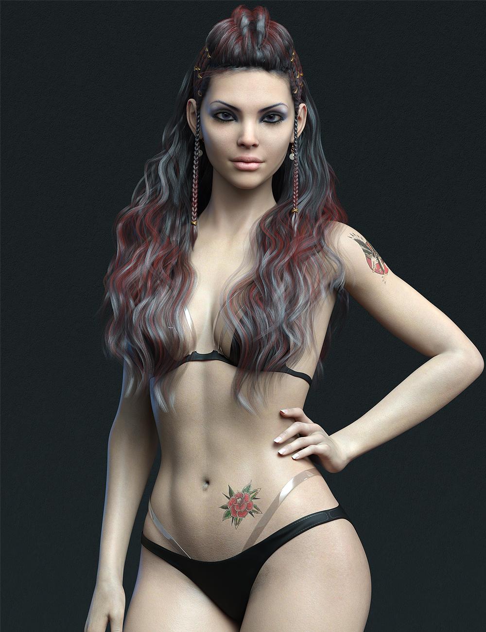 MR Bianca for Genesis 8.1 Female by: Marcius, 3D Models by Daz 3D