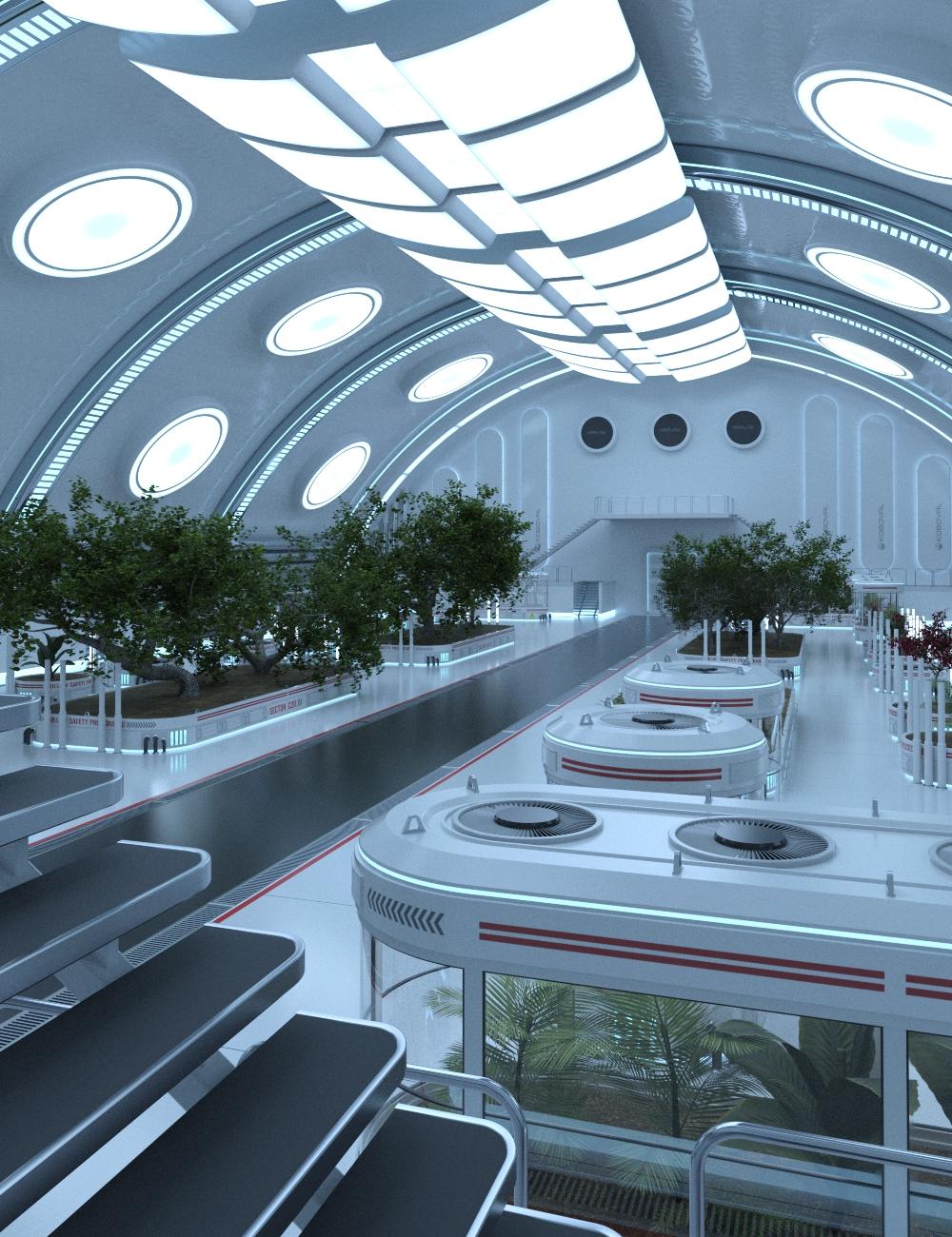 SC20 Botanical Garden by: FToRi, 3D Models by Daz 3D