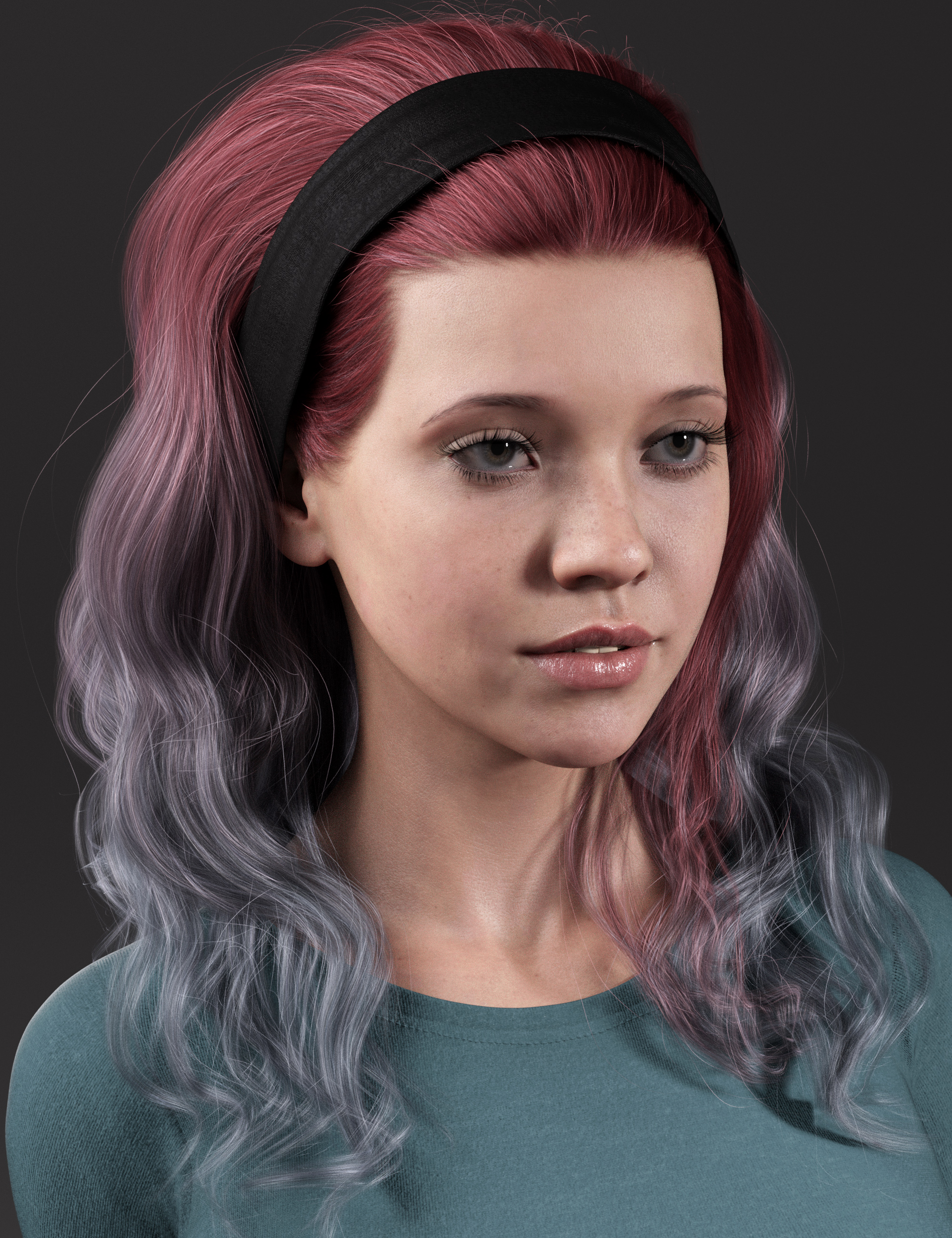 2021-11 Hair Texture Expansion by: outoftouch, 3D Models by Daz 3D