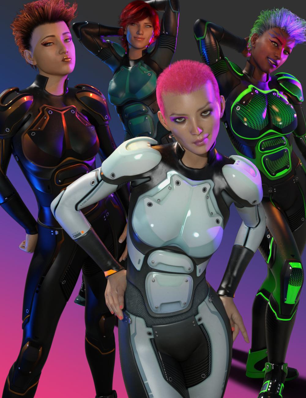 OMNI Suit for Genesis 8 and 8.1 Females by: InklingStargazer, 3D Models by Daz 3D