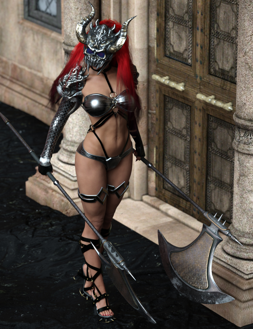 From Underworld Poses for Genesis 8.1 and 8 Female by: Ensary, 3D Models by Daz 3D
