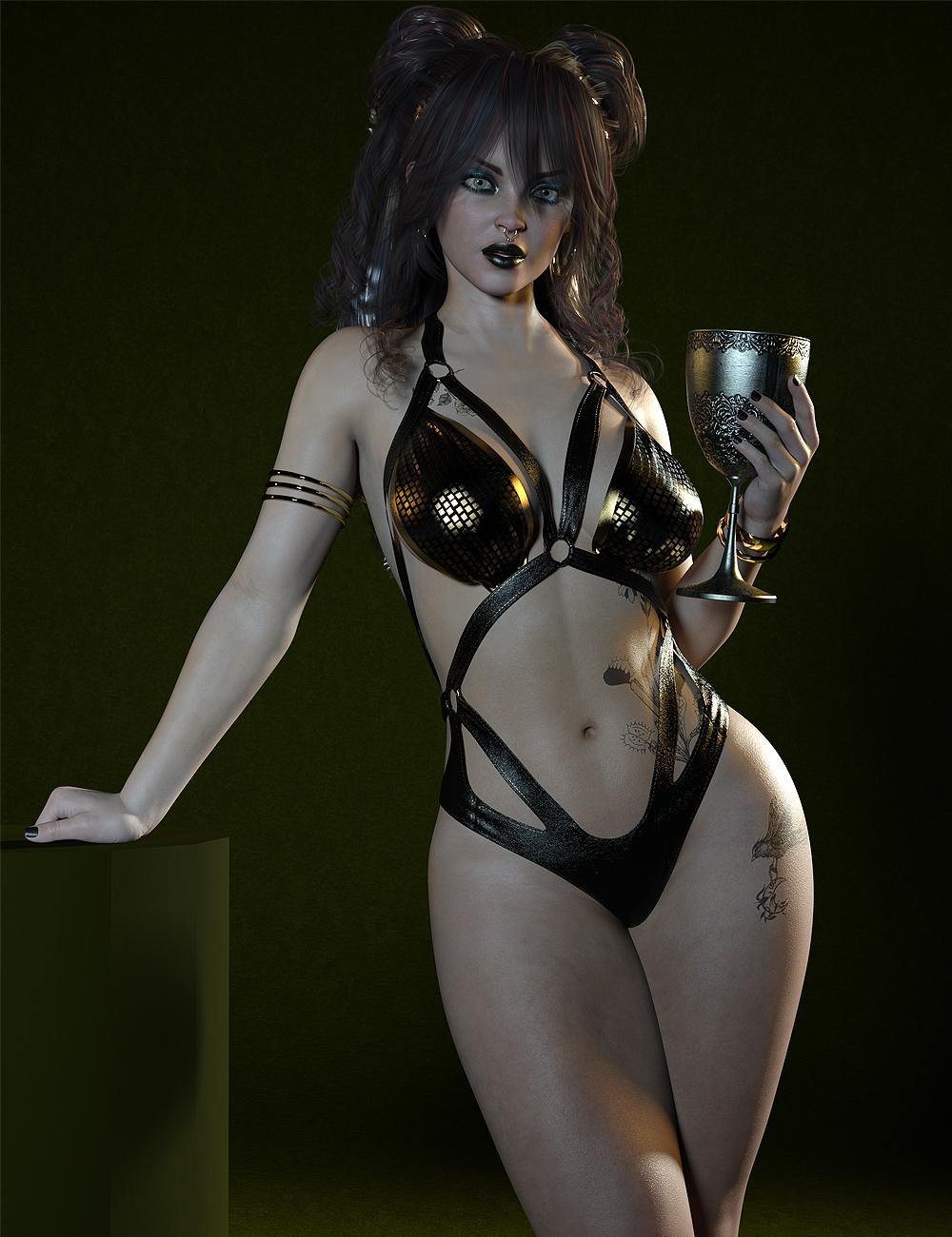 MR Scarlet for Genesis 8.1 Female by: Marcius, 3D Models by Daz 3D