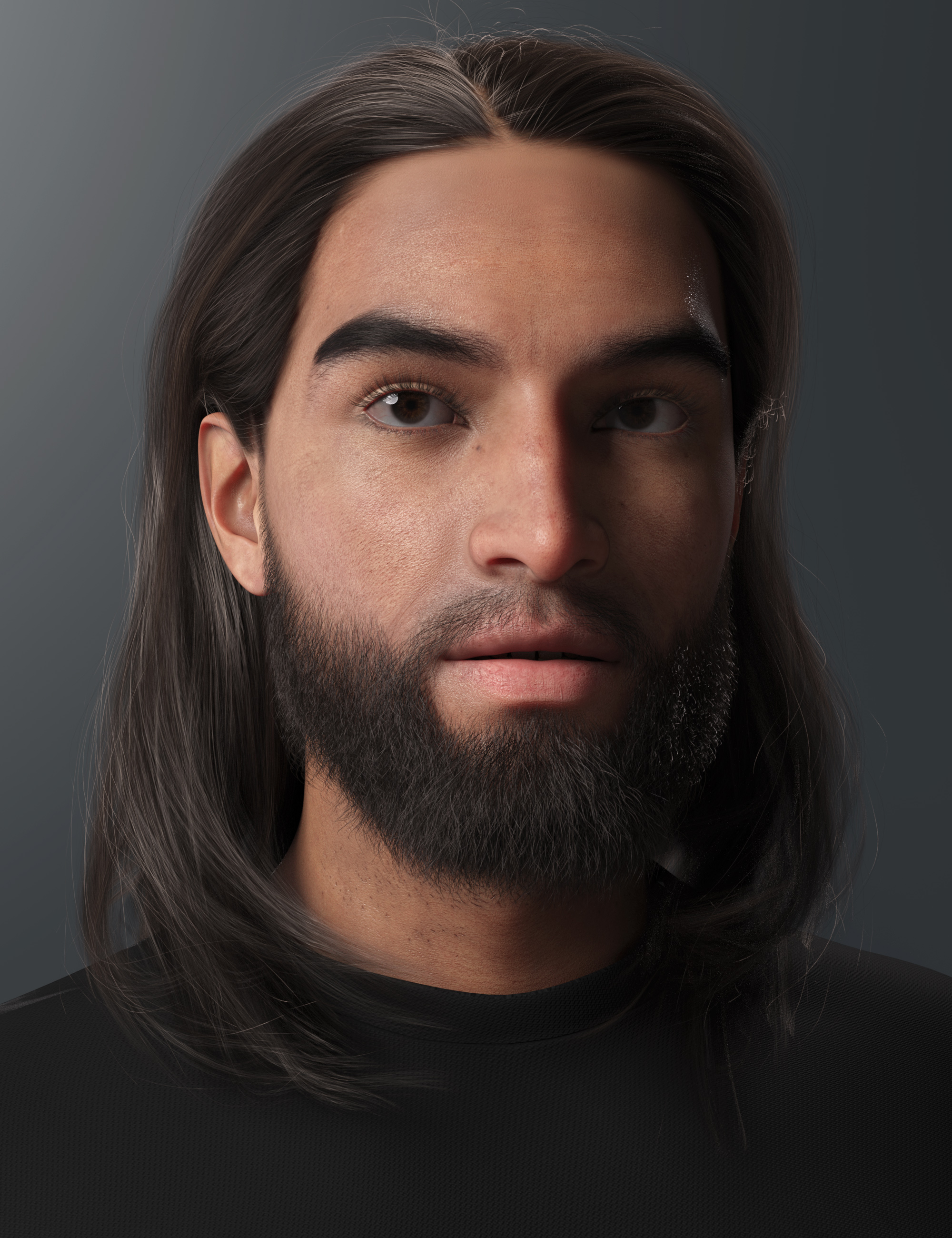 2021-12 Hair for Genesis 8 and 8.1 by: outoftouch, 3D Models by Daz 3D