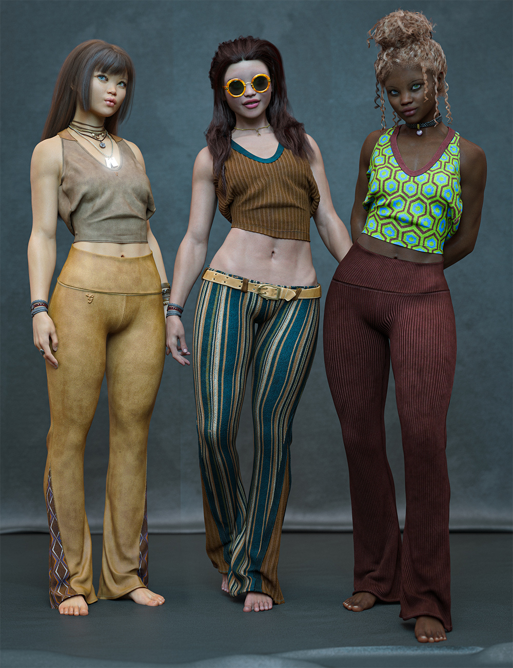 Vintage Styles for Verse Clothing Sets by: Aeon Soul, 3D Models by Daz 3D