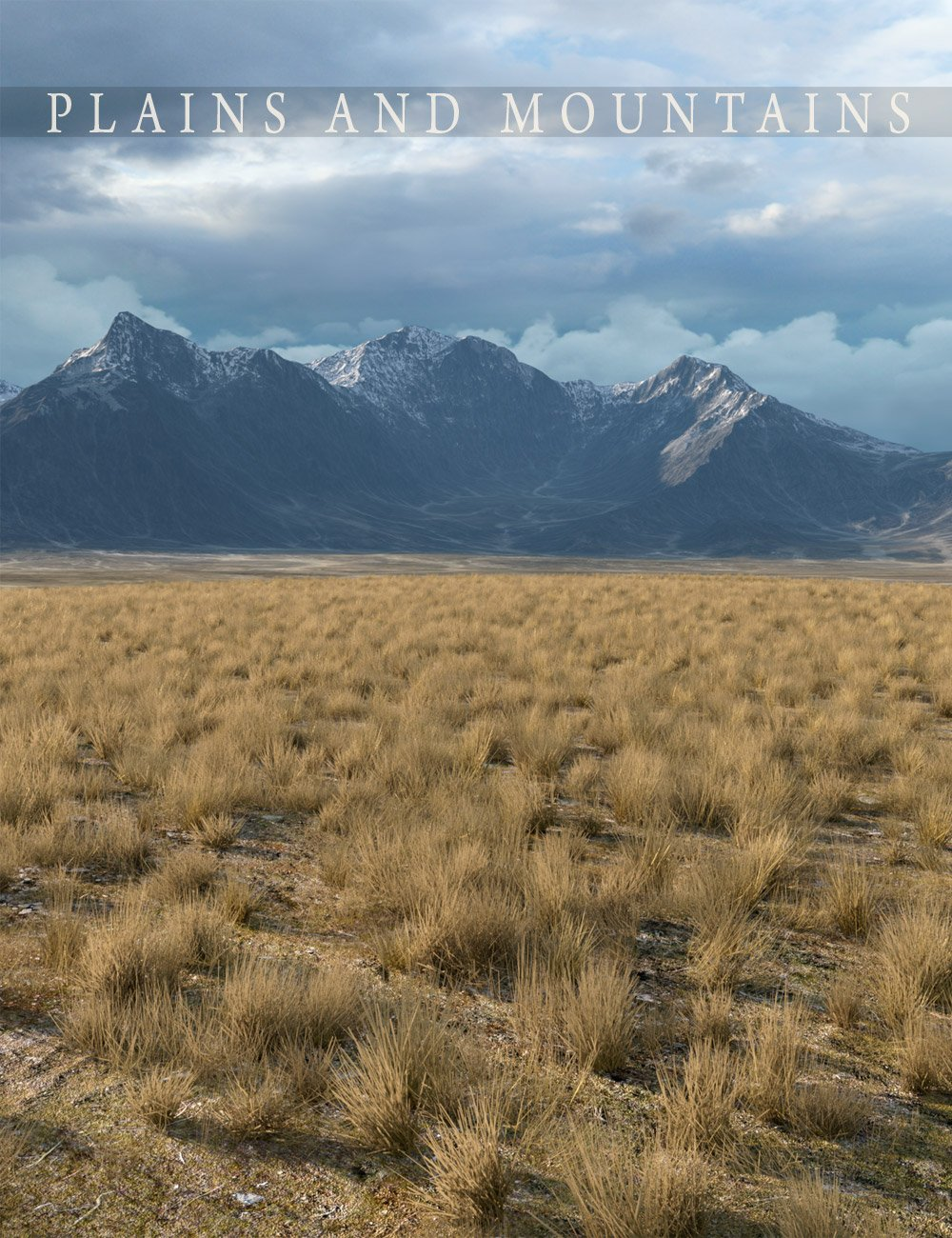 Plains and Mountains by: Aako, 3D Models by Daz 3D