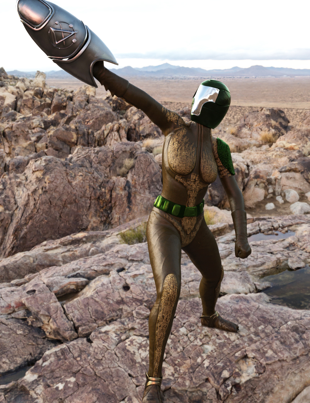 Space Scorpion for Genesis 8 Females by: Larisha, 3D Models by Daz 3D