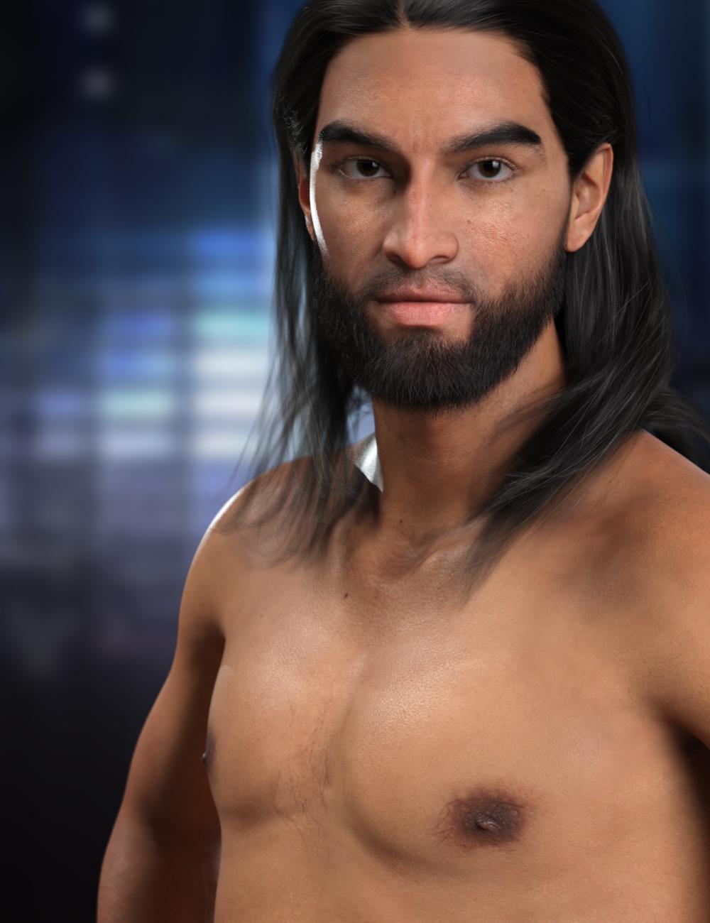 RY Dario for Genesis 8.1 Male by: Raiya, 3D Models by Daz 3D